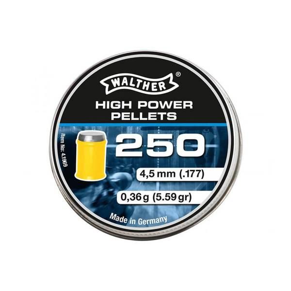 Bilde av Walther High Power Pellets - 250stk