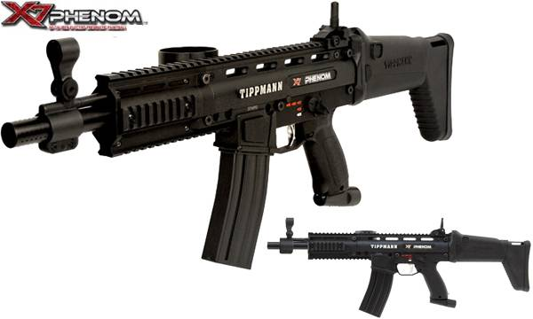 Bilde av Tippmann X7 Phenom Assault Co2 Powerpack