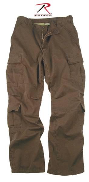 Bilde av Vintage Brown Bukse