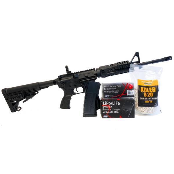 Bilde av CAA M4 Carbine V2 - Svart - Sportline COMBO Pakke