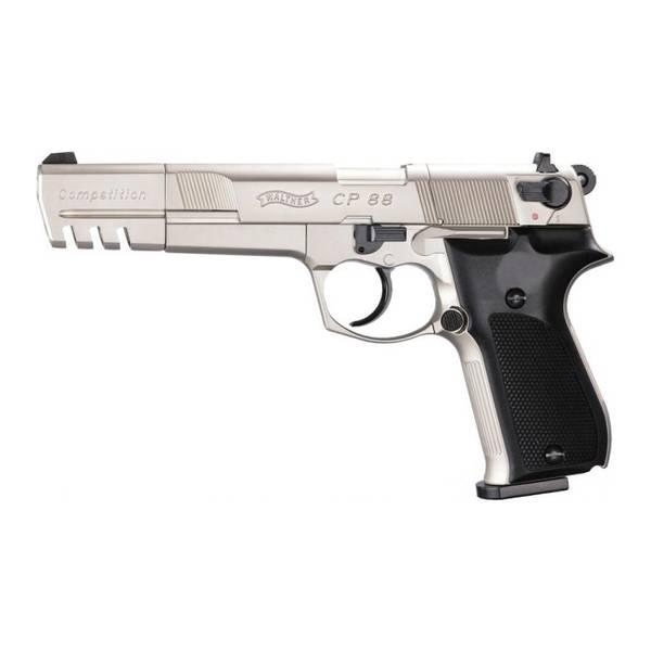 Bilde av Walther CP88 Competition Sølv - 4.5mm Pellets