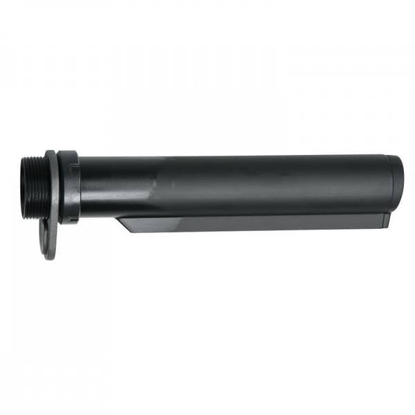 Bilde av AR-15 Mil-Spec Buffer Tube / Stock Tube med End Plate - Svart