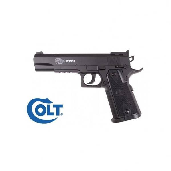 Bilde av Colt 1911 - Co2 Drevet Softgunpistol uten Blowback - Svart