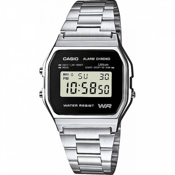 Bilde av Casio - Classic/Retro Klokke - Basic Sølv - A158WEA-1EF