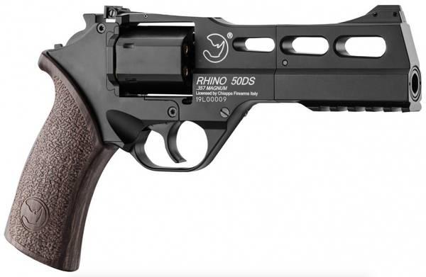 Bilde av Chiappa - Rhino 50DS Luftpistol Co2 Drevet 4.5mm Revolver - Svar
