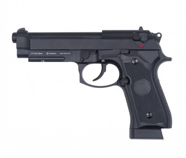 Bilde av NXW - M92 Premium 4.5mm Co2 Drevet Luftpistol - Svart
