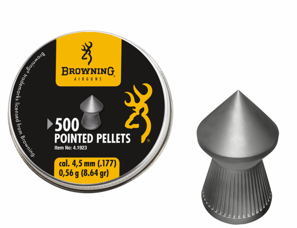 Bilde av Browning - Pointed Pellets 4.5mm - 500stk