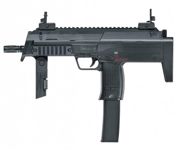 Bilde av Heckler & Koch - MP7 A1 Fjærdrevet Softgun - Svart