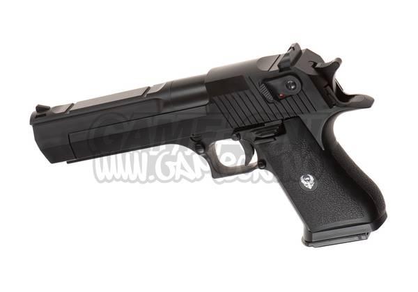 Bilde av HFC - Deagle .50 Gassdrevet Softgun Pistol med Blowback - Svart