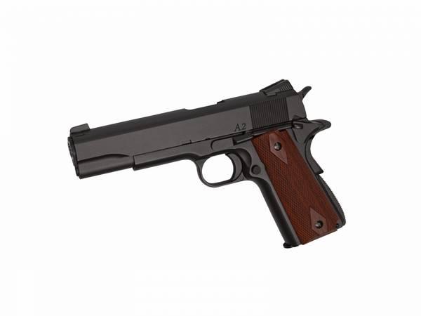 Bilde av Dan Wesson - 1911 A2 Softgun Pistol med Blowback - CO2