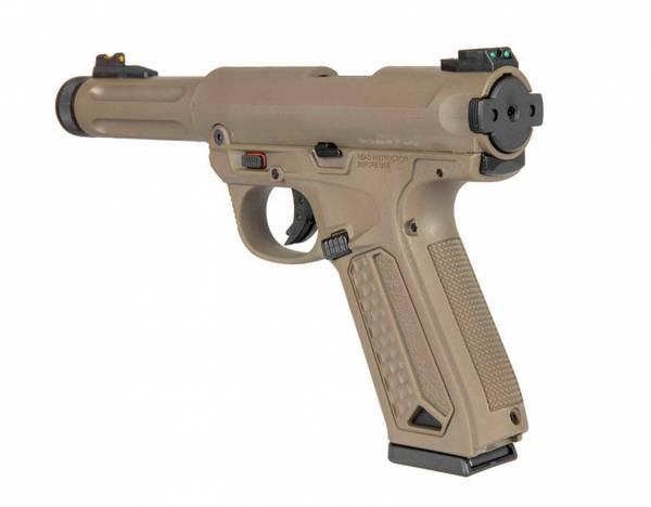 Bilde av Action Army - AAP-01 Assassin Semi/Fullauto Softgun Pistol - Tan