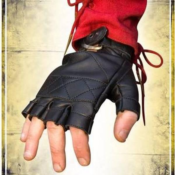 Bilde av Celtic Gloves Leather - Epic Black - L