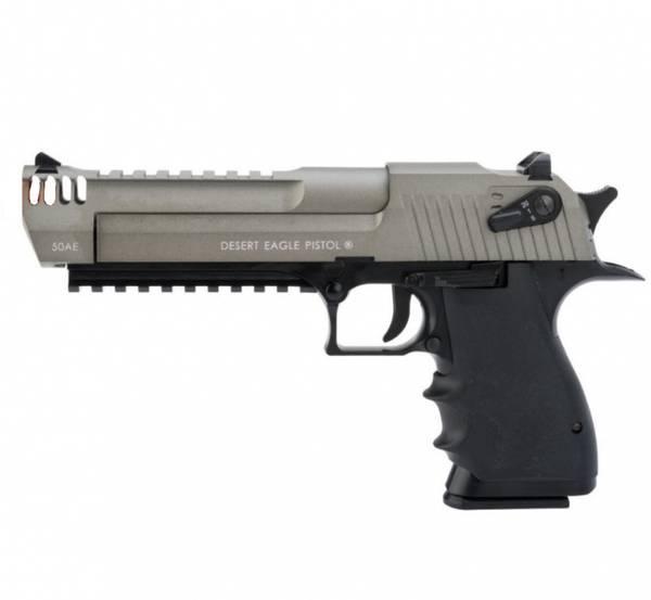Bilde av Desert Eagle L6 Semi/Full Auto Softgun Pistol CO2 - Dual Tone
