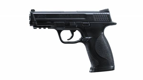 Bilde av Smith & Wesson M&P 40 - Gass Softgun med Metal Slide