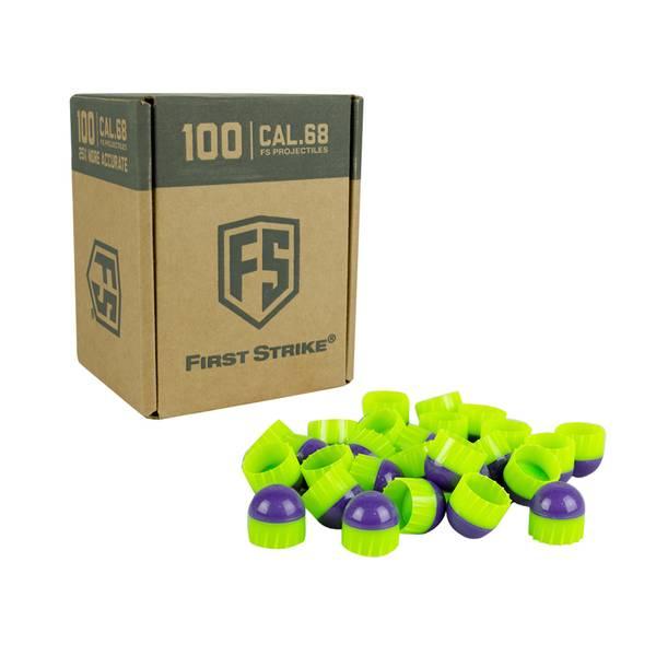 Bilde av First Strike Paintballs FSR - Purple/Green - 100 stk