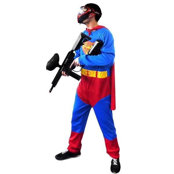 Bilde av Supermanndrakt